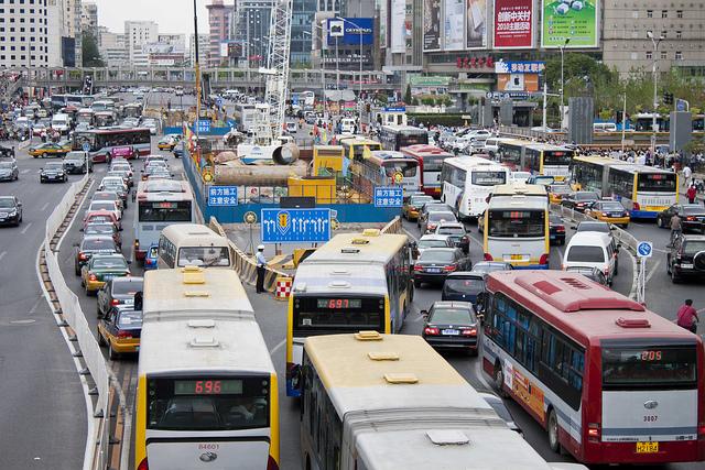essay traffic congestion pollution