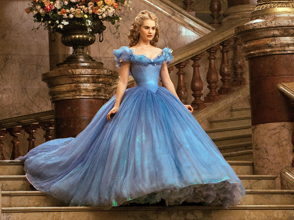 reallife cinderella lily james gives credit to her