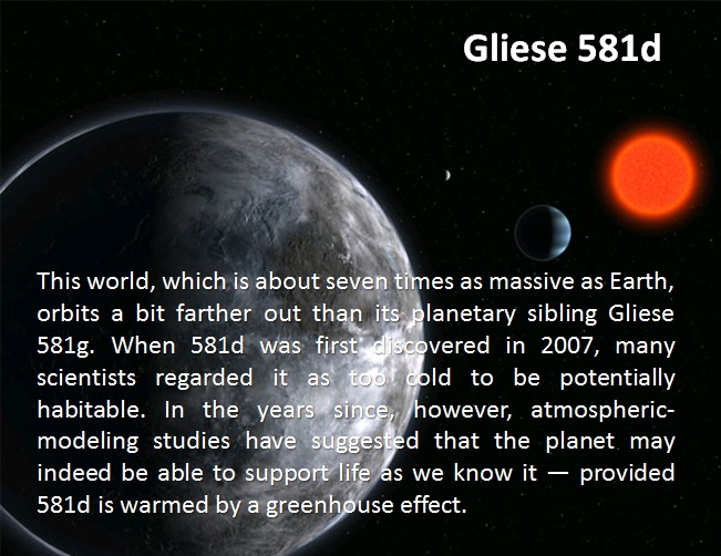 gliese 581g to earth comparison - photo #29