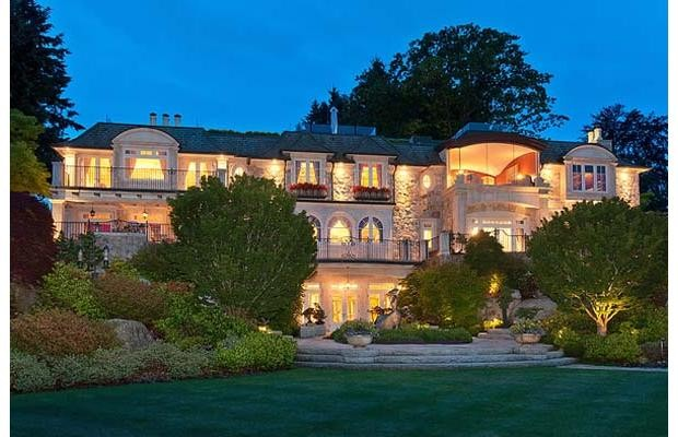 The Point Grey mansion is one of the many luxury houses being sold in Lower Vancouver.