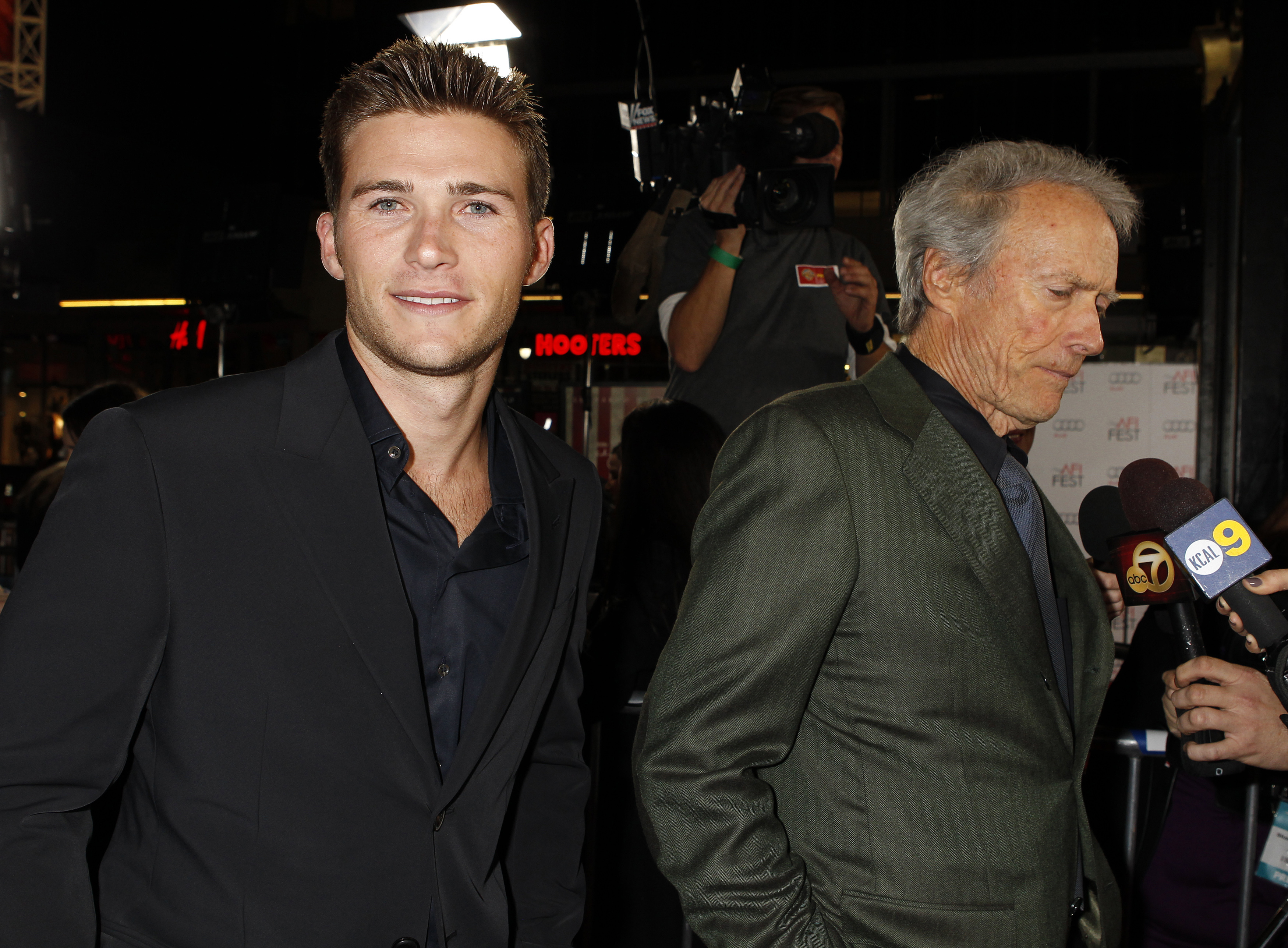 Clint eastwood s son scott dad 39 didn 39 t care if i was a for Is scott eastwood clint eastwood s son
