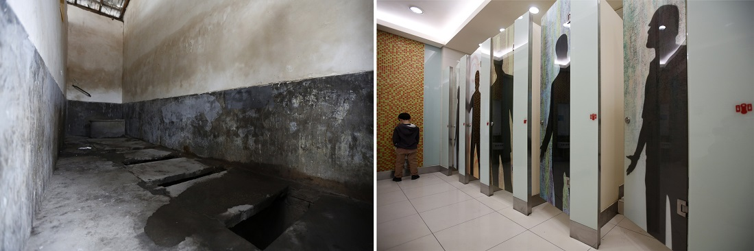 drastic measures to improve china 39 s public toilets to be