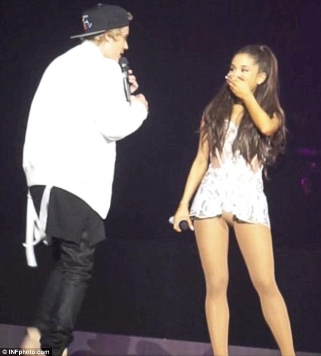 Justin Bieber Ariana Grande Big Sean Justin Bieber Ariana Grande