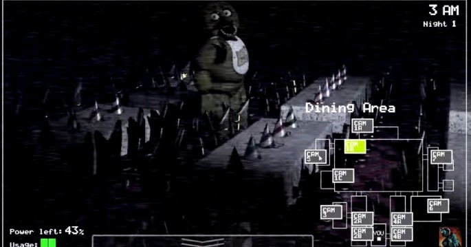 Survival horror game five nights at freddys gets movie