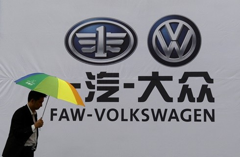 New Faw Logo Logo of Faw-volkswagen at