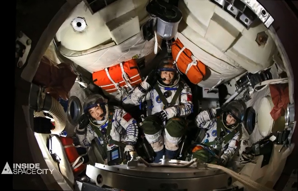 astronauts in space china - photo #41