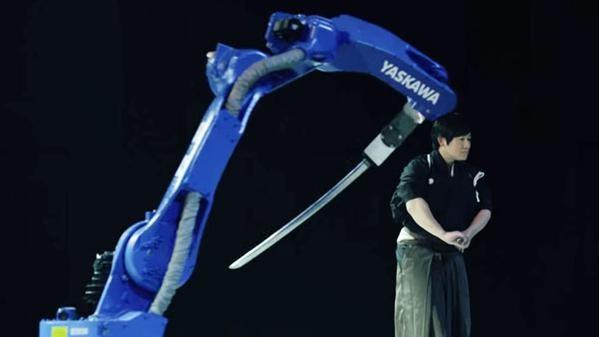 Un robot-sabre surpasse un samouraï des temps modernes