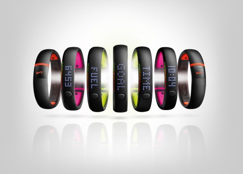 Nike FuelBand fitness trackers